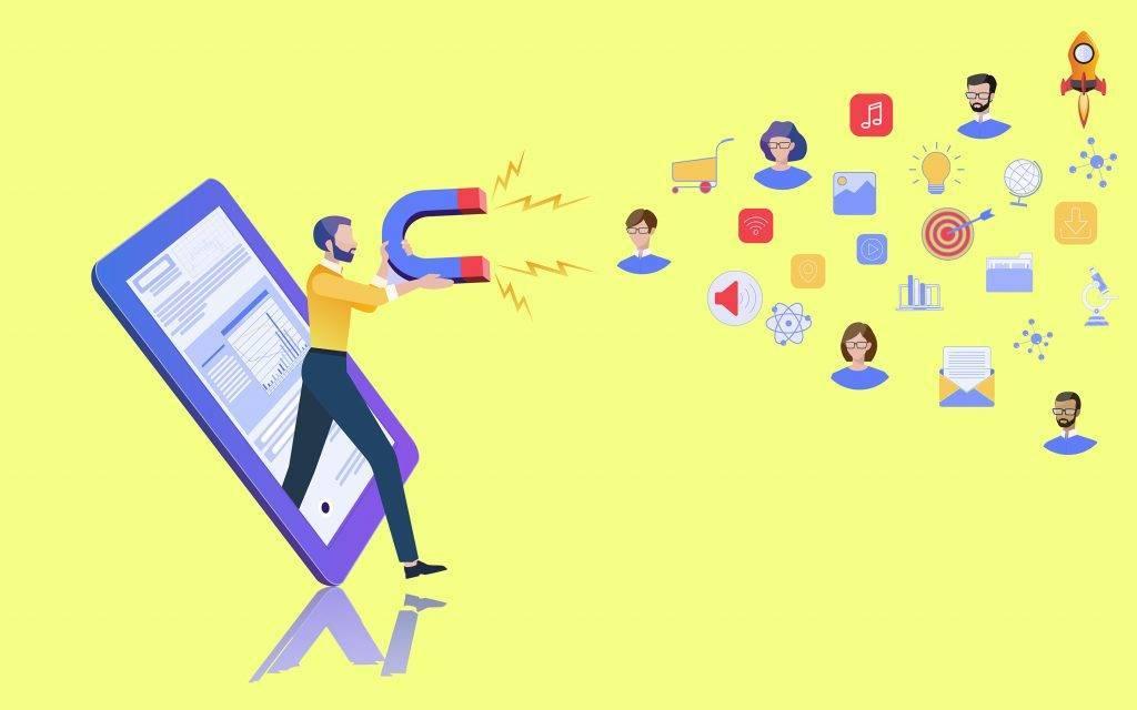 زيادة زوار الموقع الذين يتحولون لاحقا إلى عملاء.